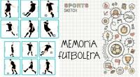 Juego de memoria con temática de fútbol: Encuentra la pareja Consta de 46 parejas. 96 tarjetas en total.