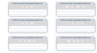 Estas tarjetas son una ampliación de una única ficha que ya compartí. Al realizarla en este nuevo formato, nos permite poder plastificar y usar en más ocasiones. La actividad en […]