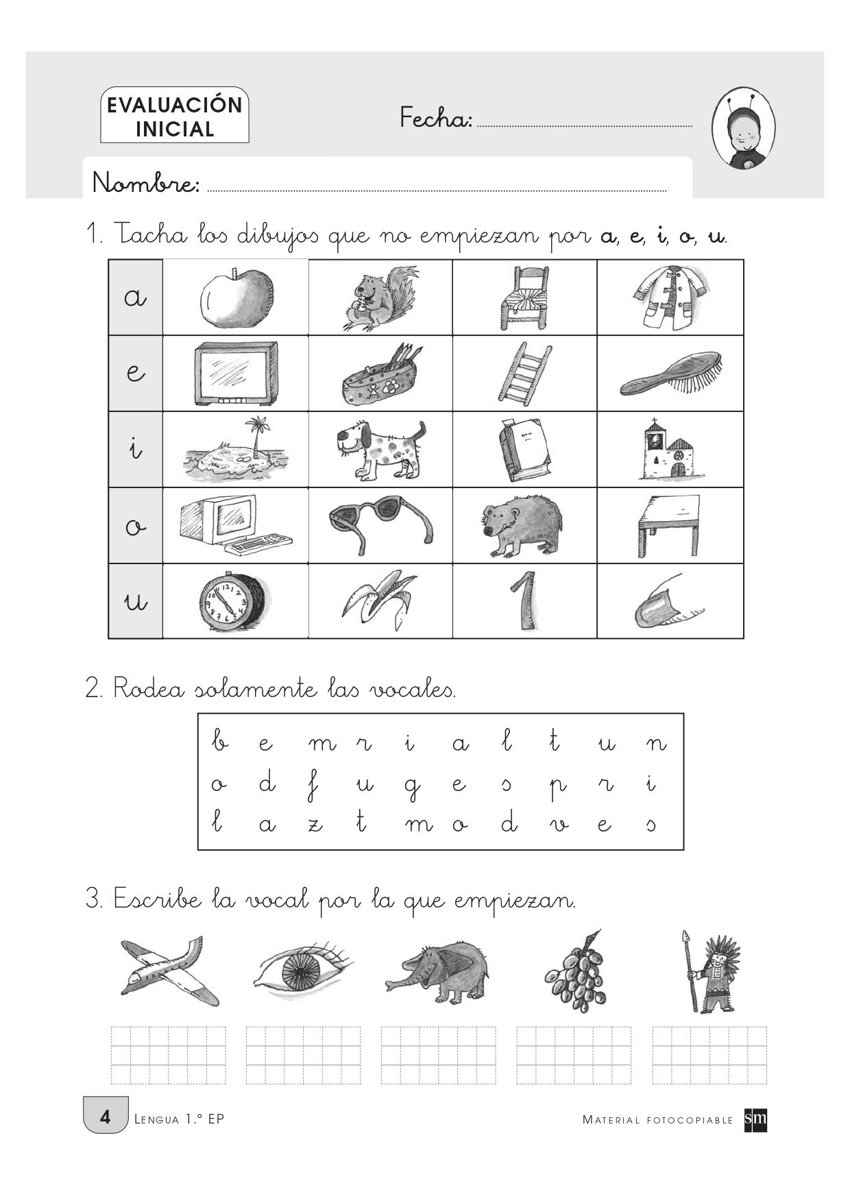 Evaluación inicial para primero de primaria_page-0007 - Orientación Andújar  - Recursos Educativos