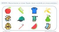 Os presento una lámina para estimular la MEMORIA a corto plazo que contiene 12 estímulos visuales pertenecientes a tres categorías semánticas diferentes: frutas, objetos relacionados con la higiene y prendas […]