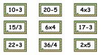 ¿Quién dijo que las matemáticas no fuesen divertidas? A continuación, os comparto un material para ejercitar las operaciones básicas a través del juego. Se trata de una colección de tarjetas; […]