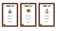 Hoy os propongo un divertido juego para trabajar el vocabulario de Halloween. Se trata de una colección de tarjetas con pistas para averiguar de que estamos hablando. Contamos con la […]