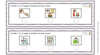 Os comparto a continuación una fantástica actividad del blog Actividades de Infantil y Primaria para ordenar secuencias temporales. El ejercicio consiste en escribir 1, 2 ó 3 en cada casilla […]