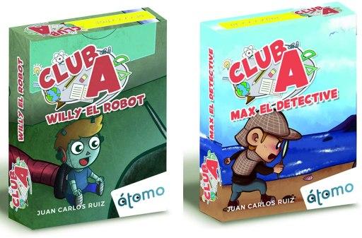 Pack 2 Juegos Club A. MAX el Detective y Willy el Robot
