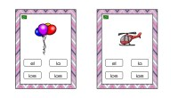 Tarjetas para aprender los artículos determinado, y los sustantivos a los que acompañan en función de su género y número.