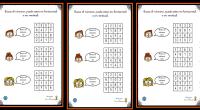Os compartimos el siguiente material del blog Actividades de Infantil y Primaria, un excelente recurso para trabajar la atención a través de divertidos pasatiempos. Una actividad similar a la sopa […]