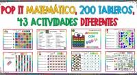 POP IT MATEMÁTICO, 200 TABLEROS, 43 ACTIVIDADES DIFERENTES POP IT MATEMÁTICO, 200 TABLEROS, 43 ACTIVIDADES DIFERENTESPOP IT MATEMÁTICO, 200 TABLEROS, 43 ACTIVIDADES DIFERENTES. Adaptado a diferentes etapas educativas. Su precio […]