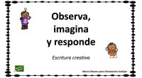 Hoy os traemos una actividad para trabajar la escritura creativa, en ella los alumnos deben observar los dibujos de la izquierda y a partir de ellos imaginar una respuesta para […]