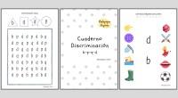 Aquí tenéis un nuevo cuaderno preparado para trabajar. . Este material esta compuesto por 6 actividades: . 1. Discriminación visual (p-q-d-b). 2. Discriminación + atención. 3. Unir imágenes con la […]