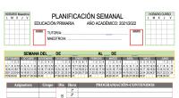 Os dejamos este planificador para vuestras programaciones esta totalmente editable para que lo pongas a tu gusto. VERSION PDF PLANIFICADOR-SEMANAL-PRIMARIA-PROGRAMACIONES-5-HORAS-2021-2022 VERSION WORD PLANIFICADOR-SEMANAL-PRIMARIA-PROGRAMACIONES-5-HORAS-2021-2022