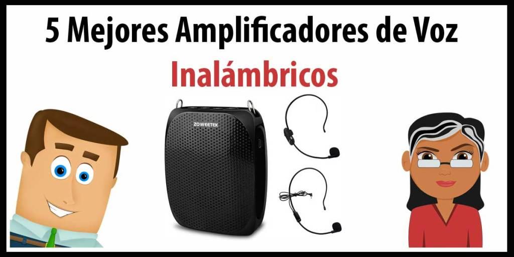 5 mejores amplificadores de voz inalambrico