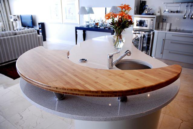 Solid Bamboo Countertops & Worktops