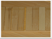 Long Plank - Middle layer cross lamination structure