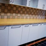 Natural Bamboo kitchen counter top