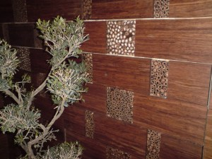Strand bamboo cladding for restaurants