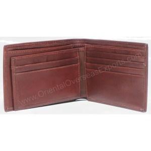 unisex leather wallet