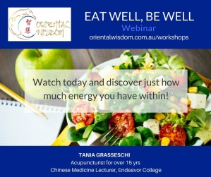 Eat Well Be Well FB post