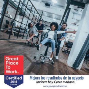 Great Place to work 2018 España