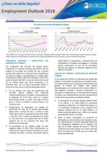 Informe OCDE Situación laboral de España 2018