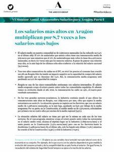 VI Monitor Anual sobre Salarios para Aragón Adecco Group 2018