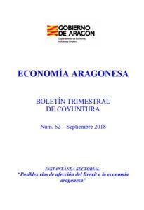 Economía Aragonesa Boletin trismetral de coyuntura nº 62 Gobierno de Aragón