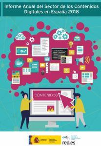 Informe anual sobre el Sector de los Contenidos Digitales en España. ONTSI 2019