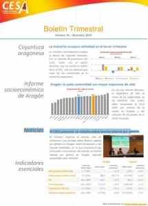 Boletín Trimestral Aragón CESA 2019