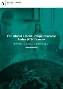 Índice de Competitividad por el Talento Global (GTCI), Adecco, Insead y Google 2020