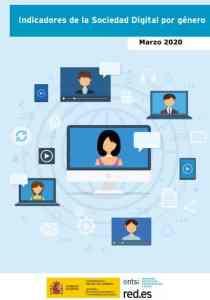 Indicadores de la Sociedad Digital por géneroONTSI