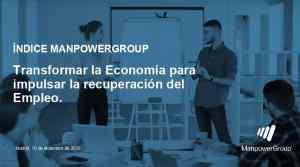 Indice ManpowerGroup Nº59 InImpacto covid en el mercado laboral