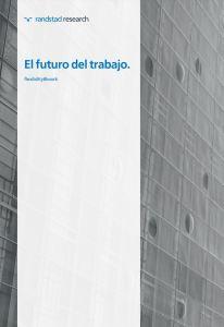 El futuro del trabajo Randstand research 2020