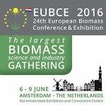 EUBCE 2016 : exposition et conférence biomasse