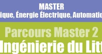 master 2 éco-ingénierie du littoral