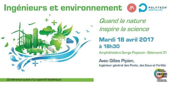 Conférence ingénieurs et environnement