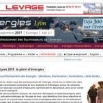 Salon Énergies Lyon 2017