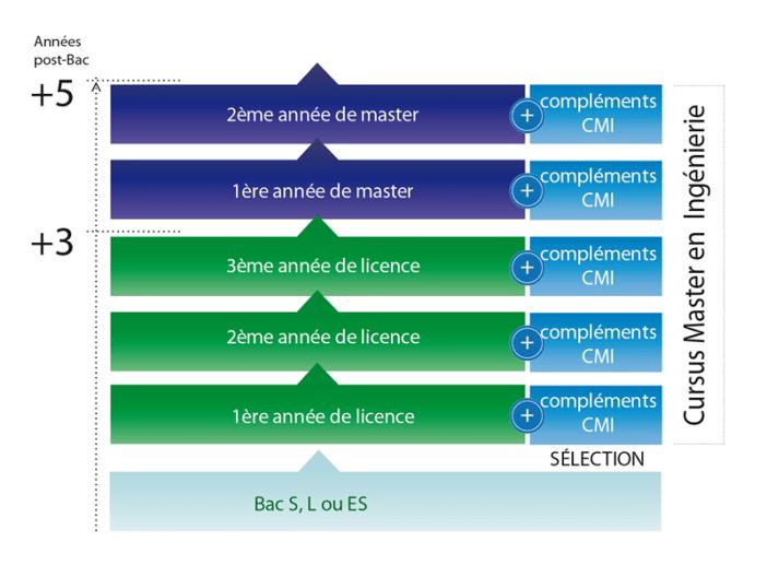 schéma des études du cmi