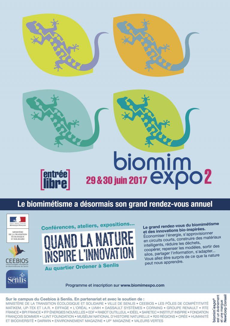 Biomim'expo, le rendez-vous du biomimétisme