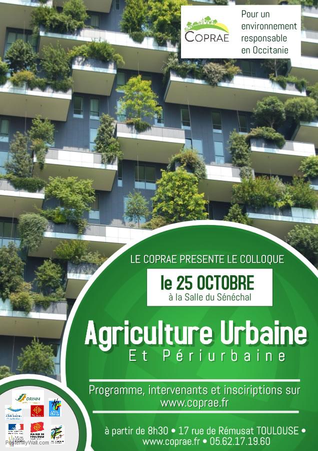 colloque agriculture urbaine à Toulouse
