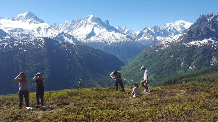 Science citoyenne CREA Mont-Blanc