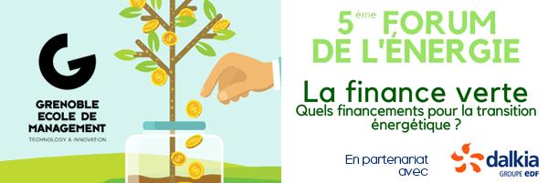 forum finance verte à Grenoble