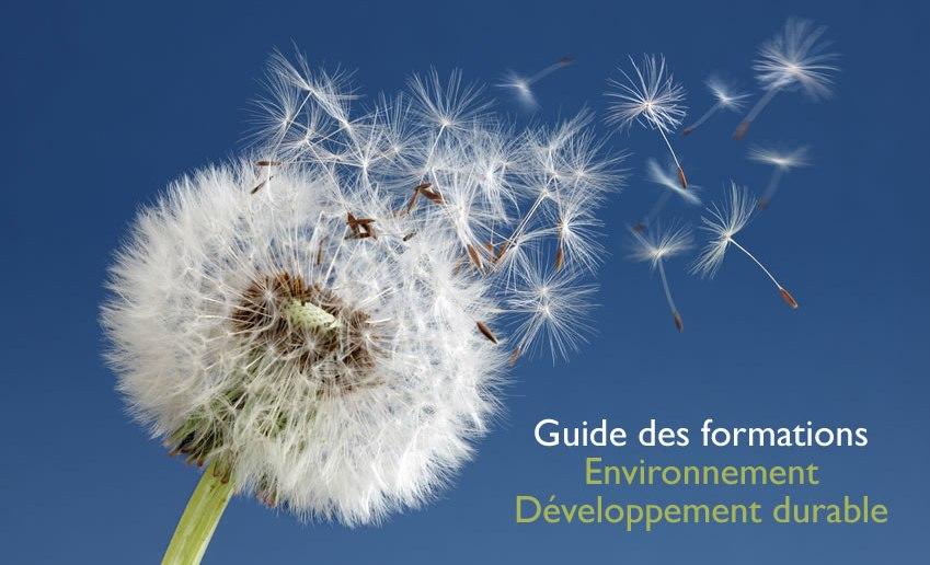 Guide des formations en environnement