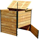 composteur en bois 1800 litres