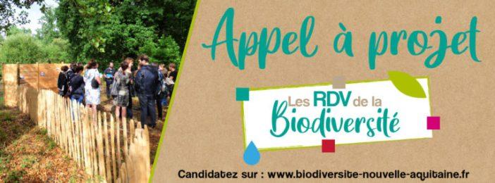 appel à projets RDV biodiversité