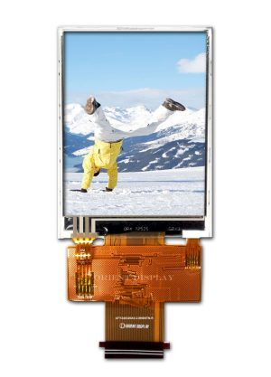 """2.8"""" 240320 color TFT LCD Display with Resistive Touch Panel"""