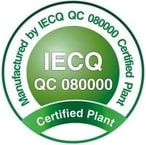 Orient Display Certificate: IECQ QC 080000 - Manufactured by IECQ QC 080000 Certified Plant