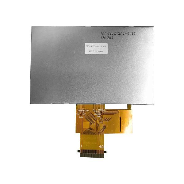 4.3 inch 480272 Sunlight Readable IPS TFT display Backside