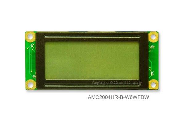 AMC2004HR-B-W6WFDW (20x4 Character LCD Module)