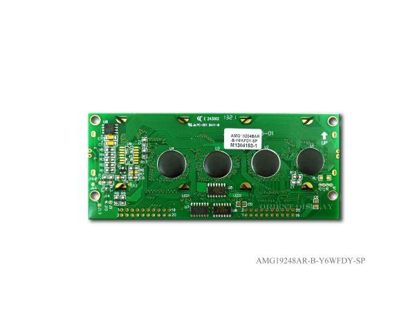 """AMG19248AR-B-Y6WFDY (modulo LCD grafico da 3.8"""" 192x48)"""