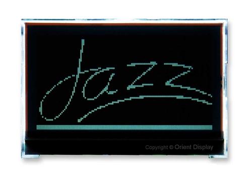 JAZZ-AC-T (Graphic 128x64 COG LCD Module)