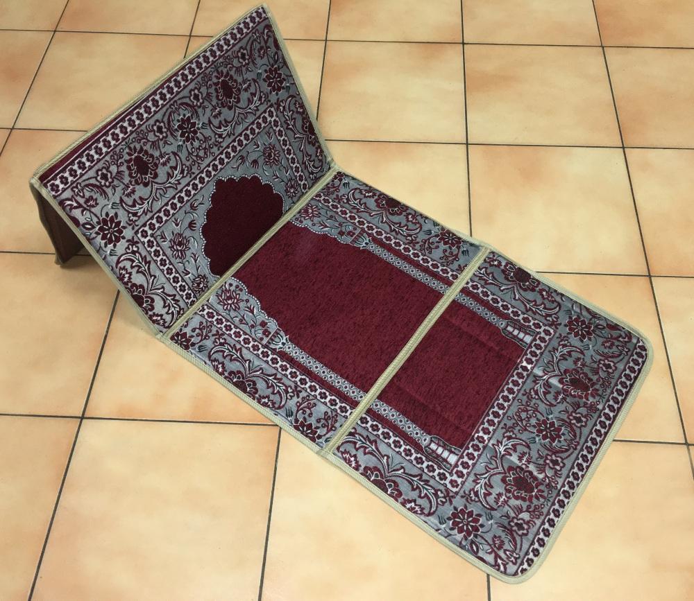 tapis de priere ultra confortable avec dossier adossoir integre support pour le dos pour s adosser avec confort avec sa sacoche